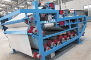 Belt Filter Press / Thickener (for Sludge Handling System)